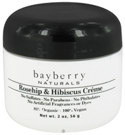 Bayberry Naturals - Facial Creme Rosehip & Hibiscus - 2 oz., from category: Personal Care