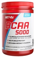 MET-Rx - BCAA 5000 Powder Unflavored - 0.88 lb.