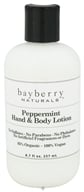 Image of Bayberry Naturals - Hand & Body Lotion Peppermint - 8.7 oz.