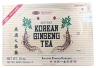 Superior Trading Company - Instant Korean Ginseng Tea - 100 Tea Bags, from category: Teas