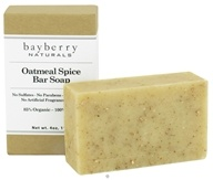 Image of Bayberry Naturals - Bar Soap Oatmeal Spice - 4 oz.