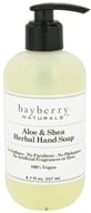Bayberry Naturals - Hand Soap Aloe & Shea Herbal - 8.7 oz. by Bayberry Naturals