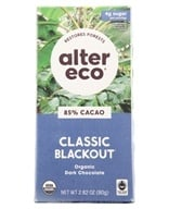 Alter Eco - Organic Chocolate 85% Cocoa Dark Blackout - 2.82 oz.
