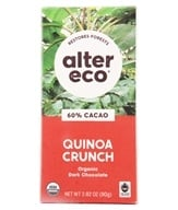 Alter Eco - Organic Chocolate Dark Quinoa 60% Cocoa - 2.82 oz. (817670010105)