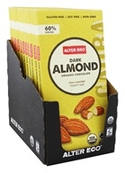 Image of Alter Eco - Organic Chocolate Dark Almond 60% Cocoa - 2.82 oz.