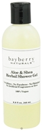 Image of Bayberry Naturals - Shower Gel Aloe & Shea Herbal - 8.8 oz.