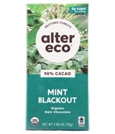 Alter Eco - Organic Chocolate Dark Mint 60% Cocoa - 2.82 oz. (817670010099)