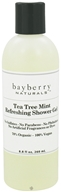 Bayberry Naturals - Shower Gel Tea Tree Mint Refreshing - 8.8 oz.