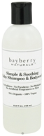 Bayberry Naturals - Baby Shampoo & Bodywash Simple & Soothing - 8.8 oz. by Bayberry Naturals