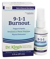 King Bio - 9-1-1 Burnout Homeopathic Spray - 2 oz.