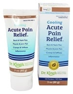 Image of King Bio - Cooling Acute Pain Relief Homeopathic Cream - 3 oz.