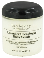 Bayberry Naturals - Body Scrub Lavender Shea Sugar - 9.7 oz. (857689003347)