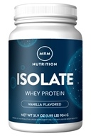 MRM - 100% All Natural Whey Protein Isolate French Vanilla - 1.99 lbs. (609492730114)