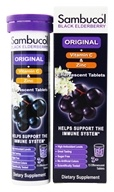 Sambucol - Black Elderberry Original Formula + Vitamin C + Zinc - 15 Effervescent Tablet(s)