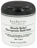 Image of Bayberry Naturals - Bath Salts Therapeutic Muscle Relief - 11.2 oz.