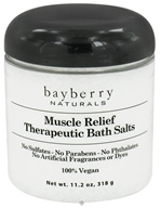 Bayberry Naturals - Bath Salts Therapeutic Muscle Relief - 11.2 oz. by Bayberry Naturals
