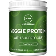 Image of MRM - 100% All Natural Veggie Protein Chocolate - 20.1 oz.