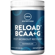 MRM - Fermented BCAA+G Reload Post-Workout Recovery Powder Watermelon - 11.6 oz.