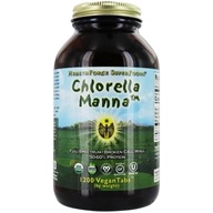 HealthForce Nutritionals - Chlorella Manna - 1500 Vegetarian Tablets (650786000659)