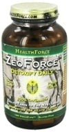 HealthForce Nutritionals - ZeoForce Zeolite Detoxify Daily - 180 Vegetarian Capsules (650786000543)