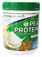 Growing Naturals - Raw Yellow Pea Protein Original - 16 oz., from category: Health Foods