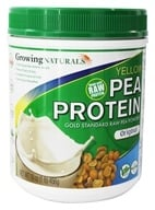 Growing Naturals - Raw Yellow Pea Protein Original - 16 oz. by Growing Naturals