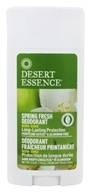 Desert Essence - Deodorant Spring Fresh - 2.5 oz. LUCKY PRICE