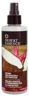 Desert Essence - Hair Defrizzer and Heat Protector Coconut - 8.5 oz.