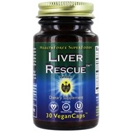 HealthForce Nutritionals - Liver Rescue 5+ - 30 Vegetarian Capsules (650786000468)