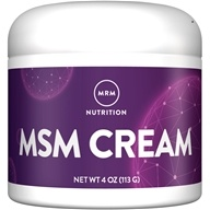 MRM - MSM Cream - 4 oz., from category: Nutritional Supplements