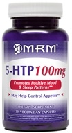 MRM - All Natural 5-HTP 100 mg - 30 Vegetarian Capsules CLEARANCE PRICED by MRM