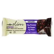 NuGo Nutrition - NuGO Slim Dark Chocolate Bar Espresso - 1.59 oz.