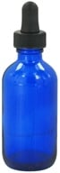 Image of Wyndmere Naturals - Cobalt Blue Glass Bottle with Dropper - 2 oz.