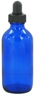 Wyndmere Naturals - Cobalt Blue Glass Bottle with Dropper - 4 oz. (602444021803)