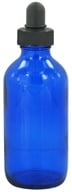 Image of Wyndmere Naturals - Cobalt Blue Glass Bottle with Dropper - 4 oz.