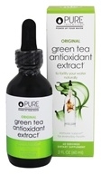 Image of Pure Inventions - Green Tea Liquid Dropper Original - 2 oz.