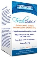 Image of MRM - Fresh Omega Pure Extra Virgin Norwegian Salmon Oil - 30 Vegetarian Capsules