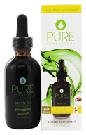Pure Inventions - Green Tea Liquid Dropper Pineapple and Coconut - 2 oz. by Pure Inventions