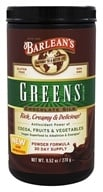 Barlean's - Greens Chocolate Silk Powder Formula - 9.52 oz. - $28.13