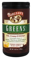 Barlean's - Greens Chocolate Silk Powder Formula - 9.52 oz. by Barlean's