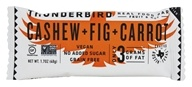 Thunderbird Energetica - Gluten Free Raw Energy Bar Cashew Fig Carrot - 1.7 oz., from category: Nutritional Bars