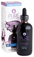 Image of Pure Inventions - Antioxidant Fruit Extracts Liquid Dropper Blueberry + White Tea - 4 oz.
