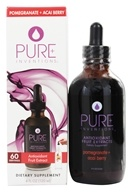 Pure Inventions - Antioxidant Fruit Extracts Liquid Dropper Pomegranate + Acai Berry - 4 oz. by Pure Inventions