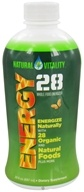 Natural Vitality - Energy 28 Whole Food Energizer - 30 oz.