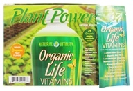 Natural Vitality - Liquid Revolution Organic Life Vitamins Organic Fruit Flavor - 30 Packet(s), from category: Vitamins & Minerals