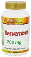 Michael's Naturopathic Programs - Resveratrol 200 mg. - 60 Vegetarian Capsules, from category: Nutritional Supplements