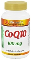 Michael's Naturopathic Programs - CoQ10 100 mg. - 30 Softgels (755929010929)