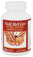 Ridgecrest Herbals - Nail ReVive Natural Defense - 60 Vegetarian Capsules by Ridgecrest Herbals