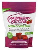 Image of Healthy Natural Systems - Raspberry Ketone with Green Coffee Bean - 30 Soft Chews