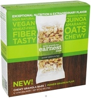 Earnest Eats - Chewy Granola Bars Power Grains & Flax - 5 Bars